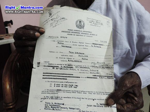 INA Certificate