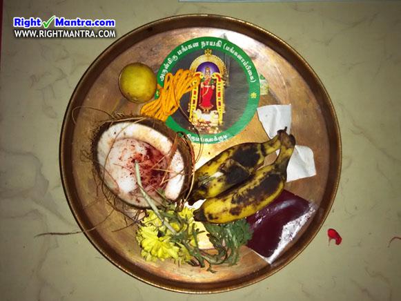 திருமங்கலக்குடி + திருவேற்காடு பிரசாதம்!