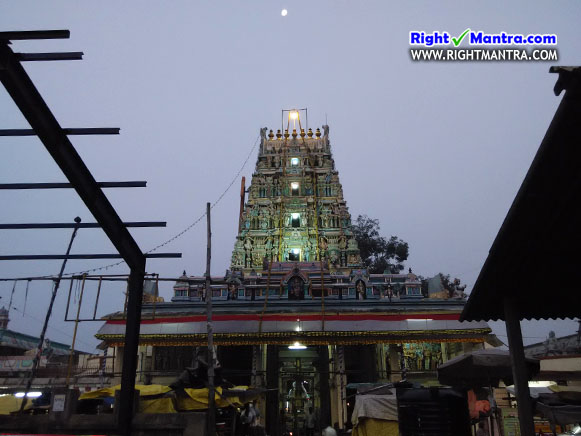 Thiruverkadu Temple Gopuram
