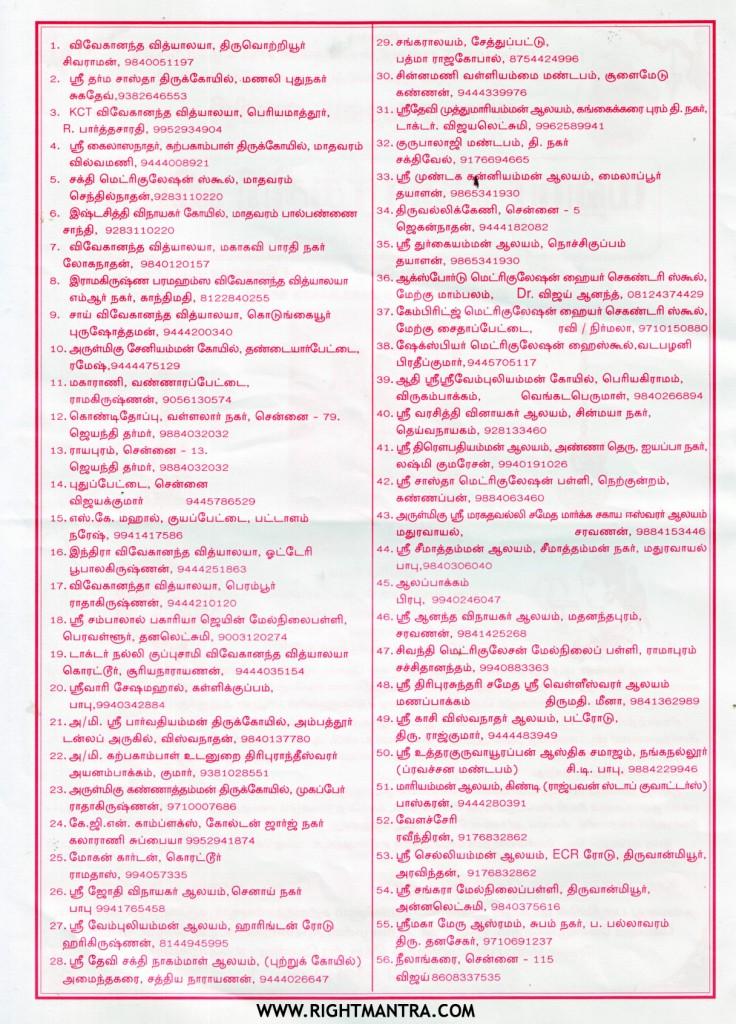 Dharma Rakshana Samiti Sivarathiri