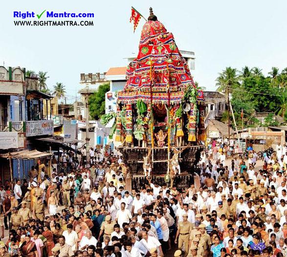thirunchendhur chariot