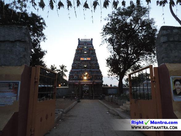 திருச்சி திருநெடுங்குளம் ஒப்பிலாநாயகி உடனுறை நித்திய சுந்தரேஸ்வரர் ஆலய ராஜ கோபுரம்