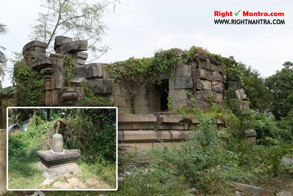 Siva temple ruins