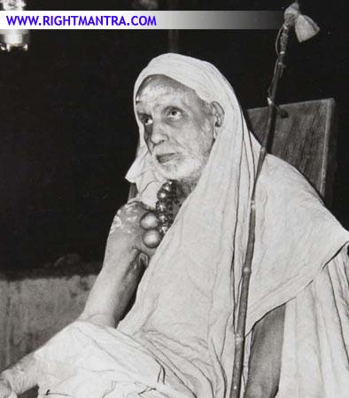 Periyava sitting