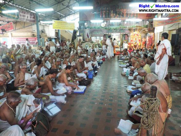 வேத விற்பன்னர்களை கொண்டு மஹா ருத்ர பாராயணம்