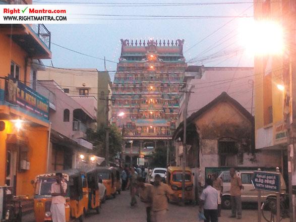 Chidambaram north gopuram