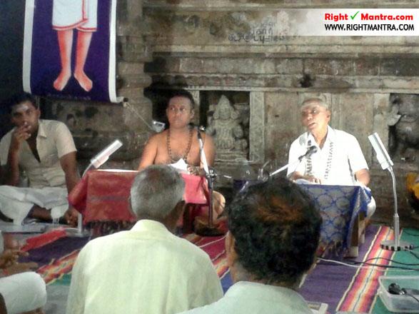 தில்லையில் சொற்பொழிவாற்றும் திரு.நடராஜ்