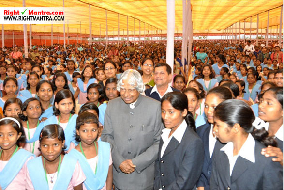 Kalam with student