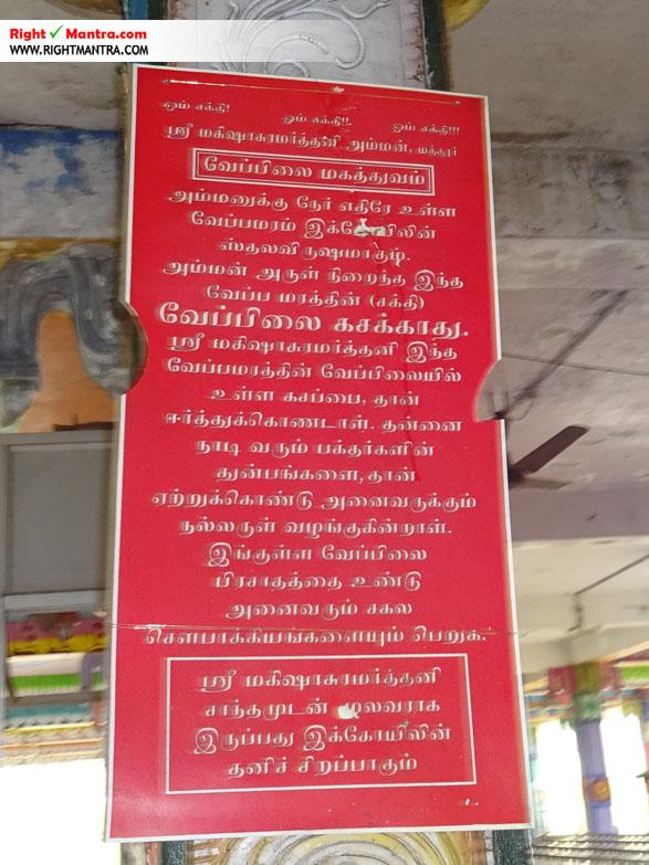Maddur Mahisashura Marthini Temple 18