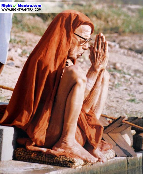 Maha Periyava Sitting