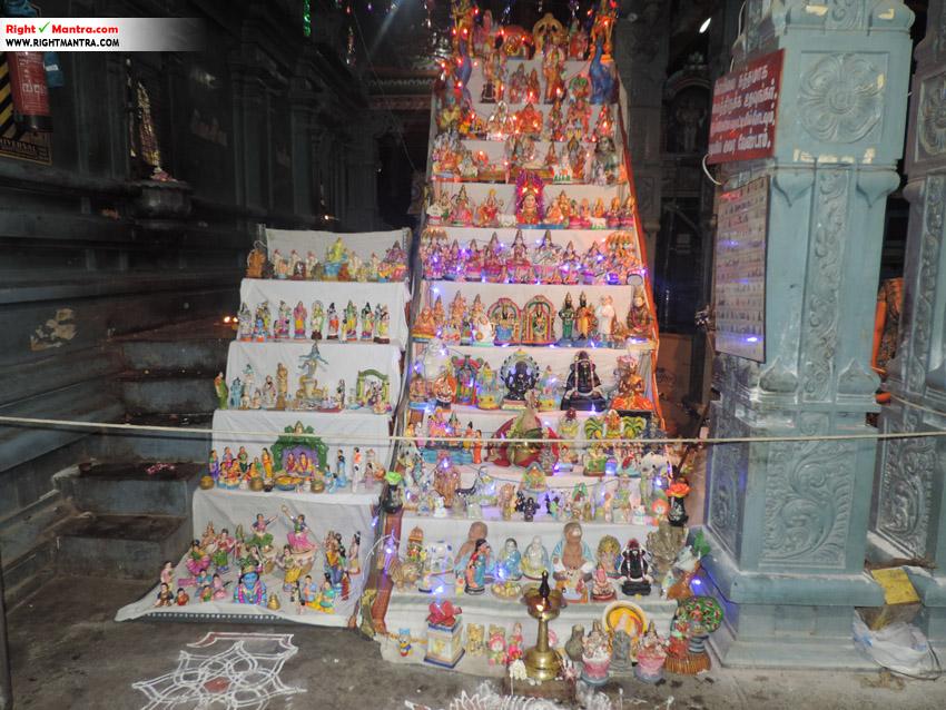 மேற்கு மாம்பலம் காசி விஸ்வநாதர் கோவில் கொலு