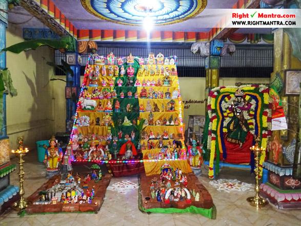 மத்தூர் மகிஷாஷுர மர்த்தனி அம்மன் கோவில் கொலு