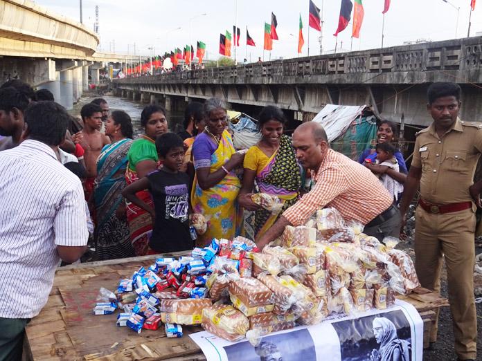 Chennai floods relief 1