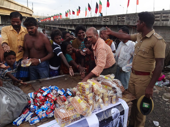 Chennai floods relief 3