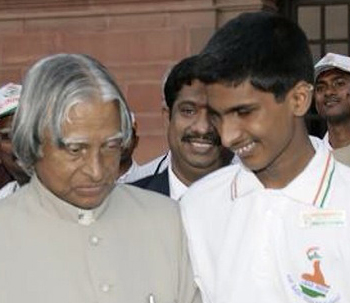 srikanth bolla with kalam
