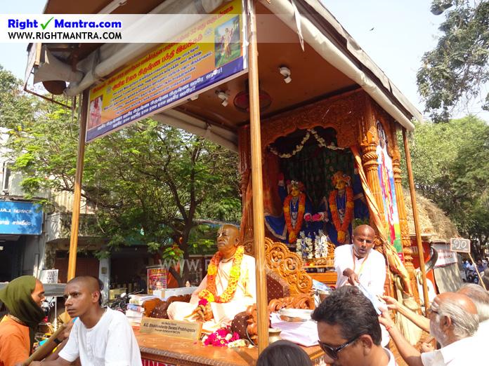 Hare Krishna Bullock Cart 2