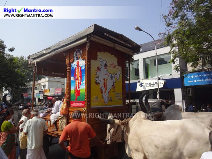 Hare Krishna Bullock Cart 3
