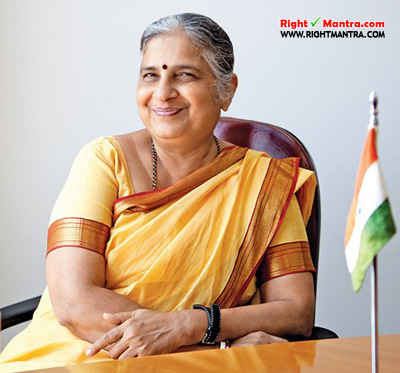 Infosys Co-Founder Mrs.Sudha Murthy