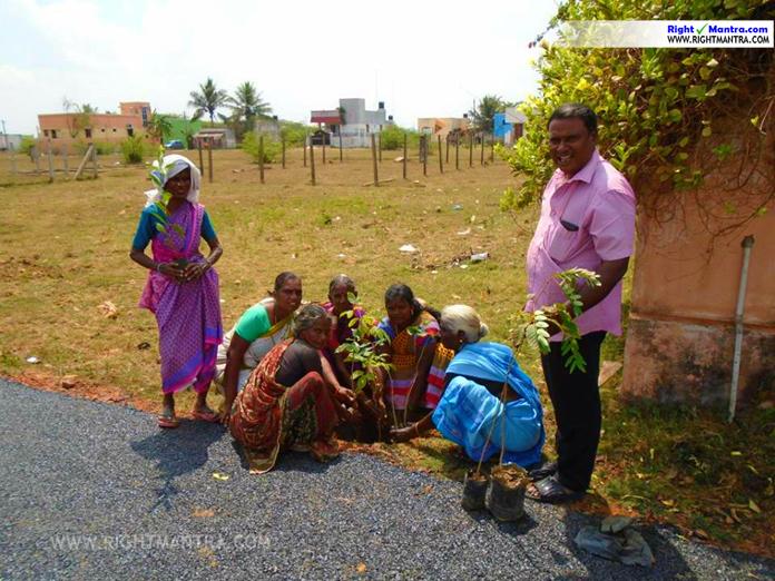 mullaivanam tree planting