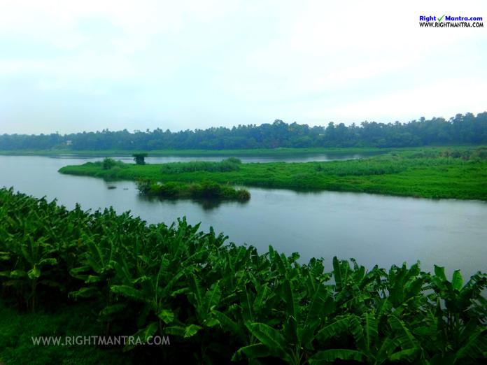 poorna river kalady