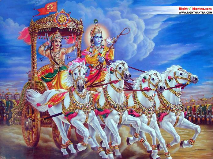 Krishna-in-MahabharatA