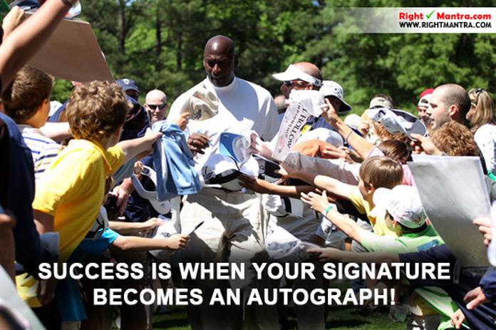Michael jordan autograph 2