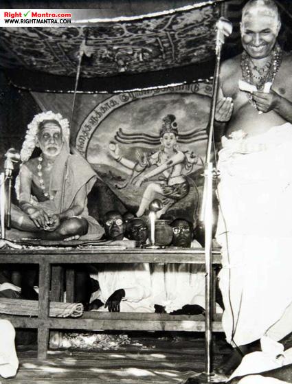 Maha periyava with variyar