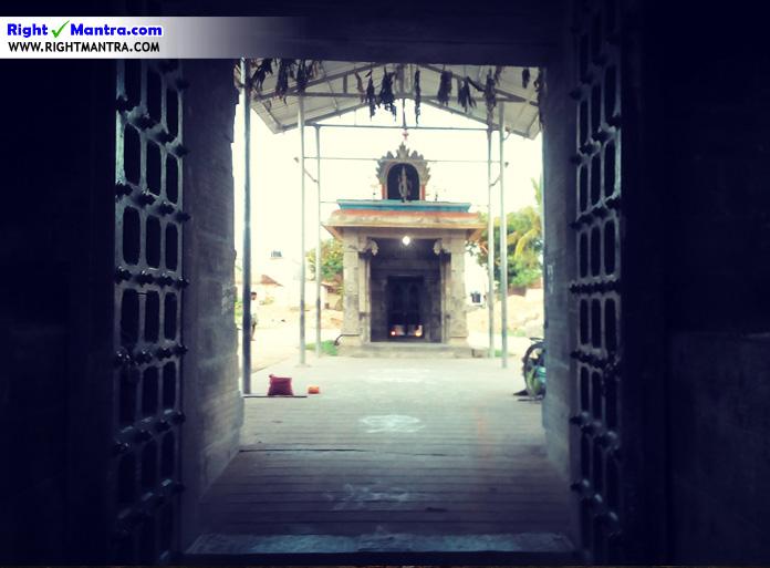 அருள்துறை உள்ளிருந்து சுந்தரர் கோவிலின் எழில் தோற்றம்!